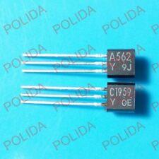 10pairs OR 20PCS TOSHIBA TO-92MOD 2SA965-Y//2SC2235-Y 2SA965//2SC2235 A965//C2235