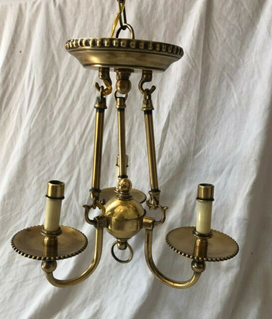 Hinkley Lighting 4423bb Chandelier Cambridge 3 Light In Burnished Br