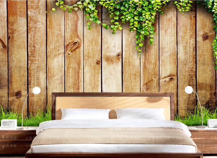 3D Wood Boards Vine 261 Wall Paper wall Print Decal Wall Deco Wall Indoor Murals