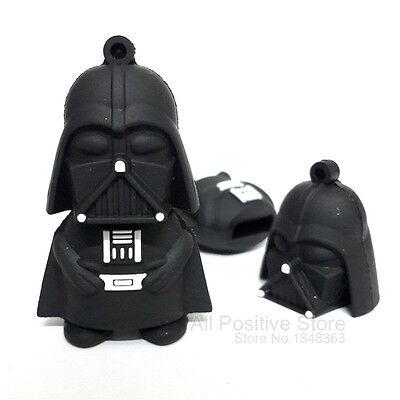 Star Wars darth vader USB 2.0 Memory Stick Flash pen Drive 4GB-32GB HUSB288