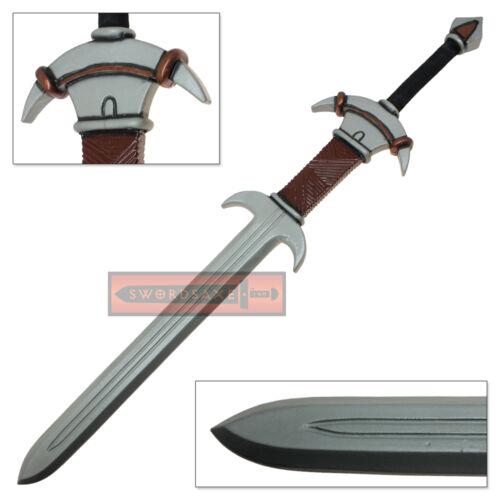 FOAM Great Sword Latex Wildling Weapon LARP Barbarian Zweihander Cosplay Prop