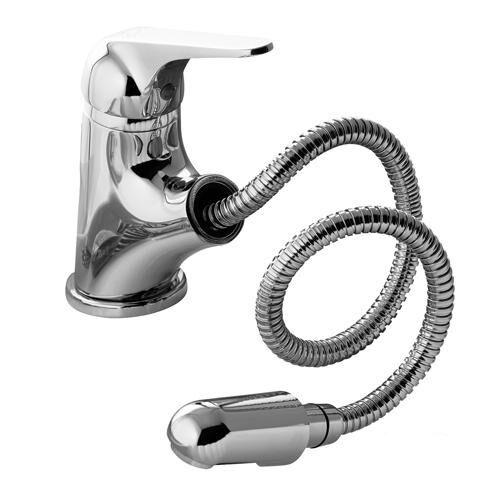 Miscelatore lavabo con doccia estraibile gattoni homix 6000 60070