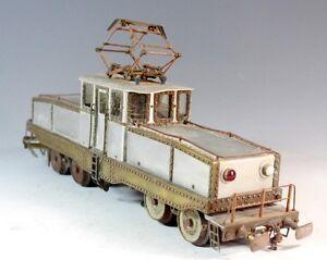 Train Modelisme Locomotive Type Boite A Sel Vers 1930 - 1950 Echelle 0