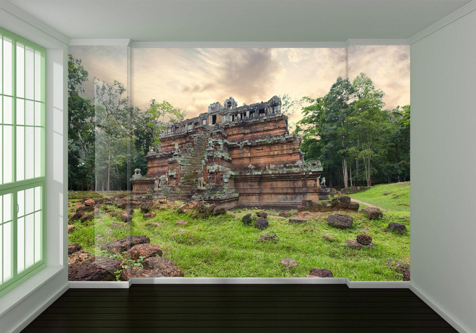 3D Kurau 4655 Fototapeten Wandbild Fototapete Bild Tapete Familie Kinder DE