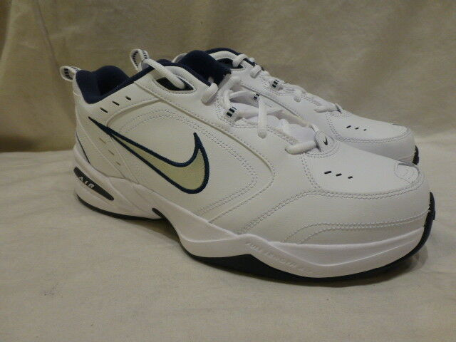 Nike Air Monarch 4 Running shoes Dart Torch Dynasty White bluee Mens 11.5 4E  119