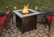 Blue Rhino Fire Table Bristol 50k Btu Lp Propane 30 Inch Patio Deck Firepit For Sale Online