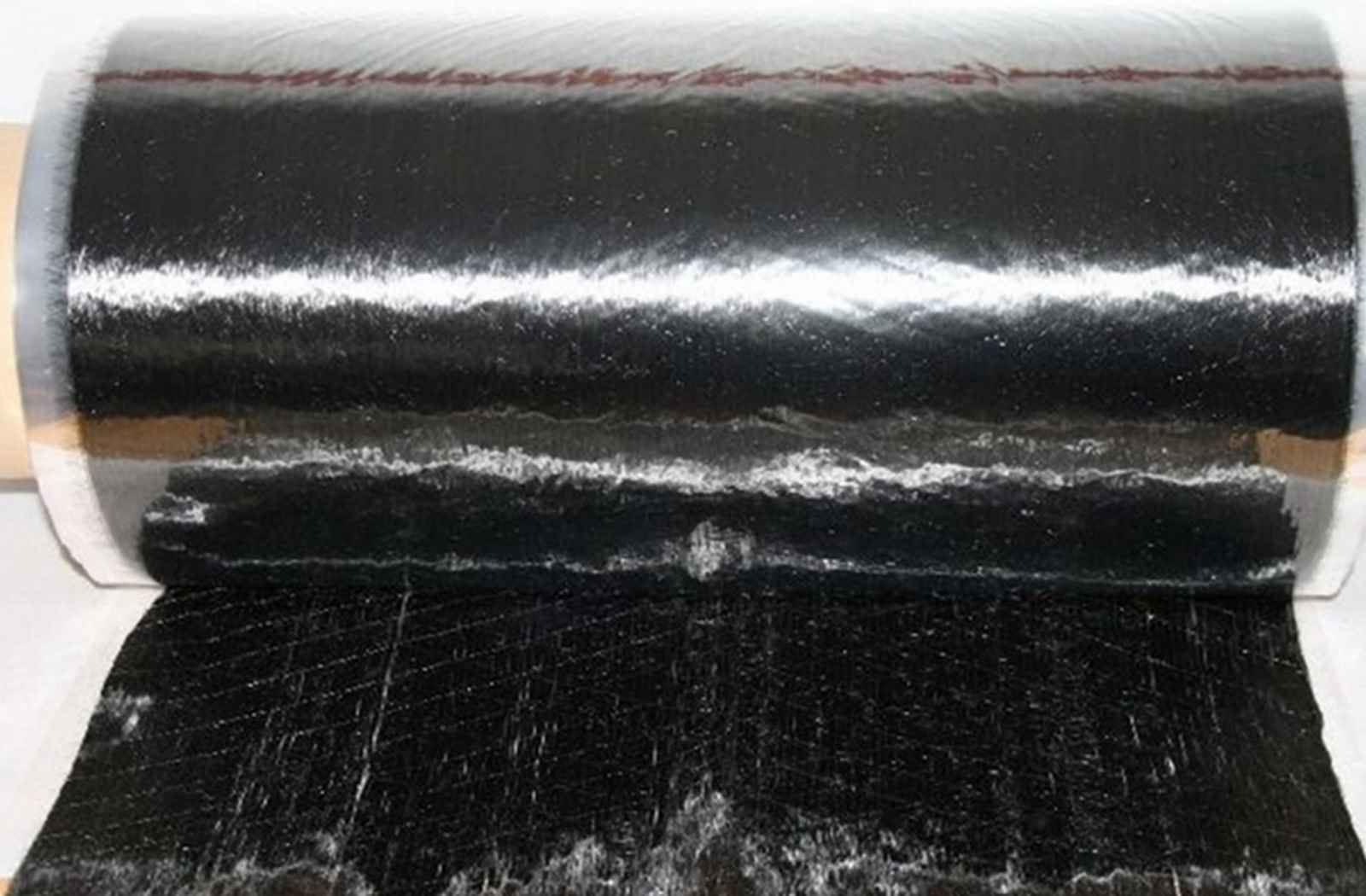25 lfm Carbongelege UD 50 g/m² Breite 50 cm cm 50 Stiefelbau Yachtbau Sportgeräte Rohre 259765