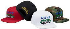 SUPREME SS17 Pandas 5-Panel Woodland Camo Camp Cap Baseball Hat Authentic New