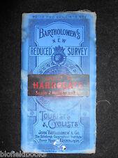 Bartholomew's Survey Map for Tourists & Cyclists - Harrogate - c1905 - Sheet 6
