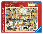 Ravensburger Crazy Cats - in The Craft Room 1000pc Jigsaw Puzzle