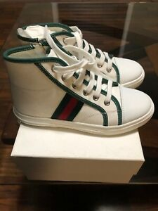 Authentic Gucci High Top Sneaker Kids