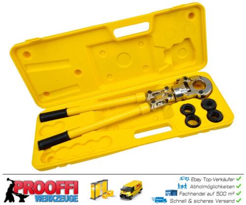 PEX Rohrpresszange TH Profil 16-32 Presszange Alu Verbund Rohr Rohrpresse G00900