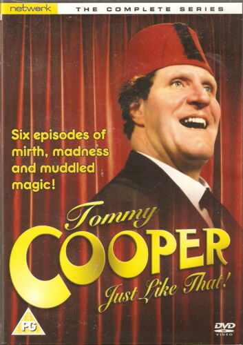 1 of 1 - Tommy Cooper JUST LIKE THAT! - Series 1. Tommy Cooper, Andrew Sachs.1978 (DVD08)