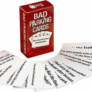 Extra Offensive Bad Parking Card Set, Total Annihilation Edition by Witty Yeti