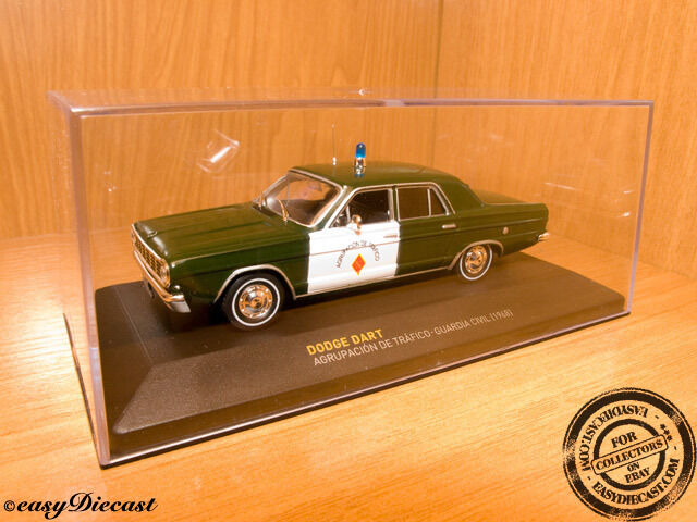 DODGE DART GUARDIA CIVIL SPANISH SPAIN POLICE 1 43 1968