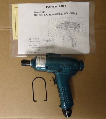 """Pneumatic Air Screwdriver Wrench 1/4"""" Hex Npk Nd-6hplx Elegant In Smell Other Business & Industrial Air Tools"""