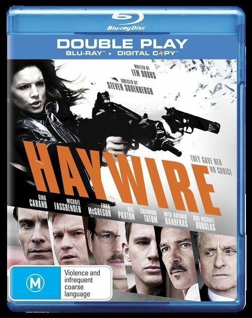 Haywire (Blu-ray, 2012, 2-Disc Set)