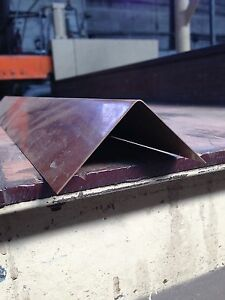 6 Pcs of Copper Sheet Angle .021 16oz 24 gauge 3 x 3 x 48