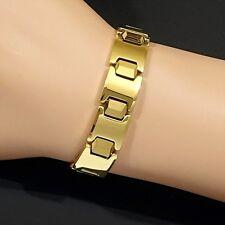 Magnetic Bio Power Tungsten Carbide CTS Arthritis Health 24K Gold Fill Bracelet