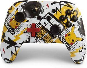 Nintendo-Switch-PowerA-Enhanced-Wireless-Controller-Pokemon-Graffiti-NEW-Rare