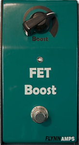 Flynn-Amps-FET-Booster-Pedal-Pure-Clean-Boost