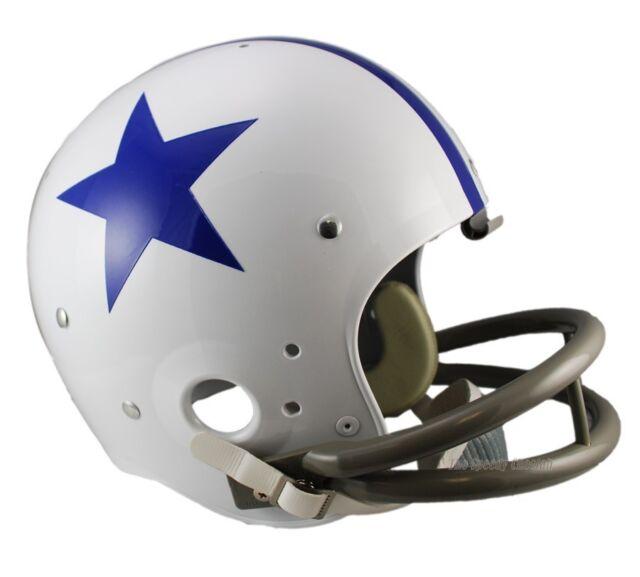 ead327d2 Dallas Cowboys Helmet Throwback Full Size 1960-1963 Riddell Replica