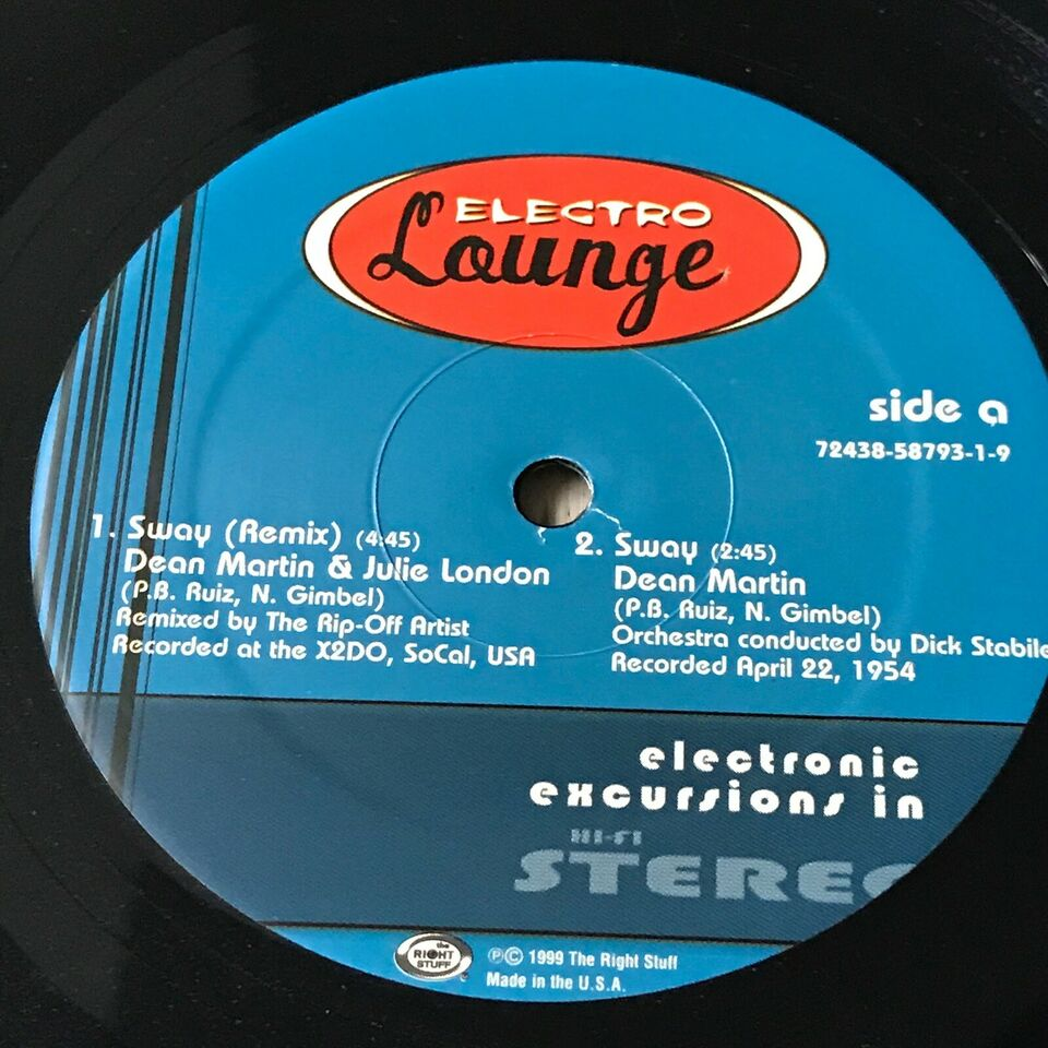 LP, Electronic Excursions, Sway/The James Bond Theme