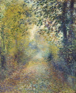 Auguste-Renoir-In-the-Woods-Giclee-Canvas-Print-Paintings-Poster-Reproduction-Co