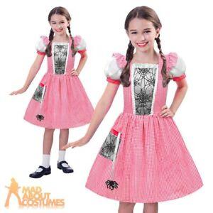 9dff4fb9e5 Image is loading Girls-Little-Miss-Muffet-Costume-Fairytale-Kids-Fancy-