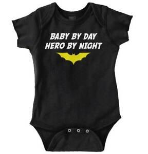 Comic-Book-Superhero-Nerdy-Geeky-Bat-Gift-Newborn-Romper-Bodysuit-For-Babies