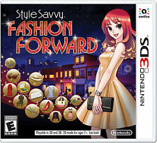 Style Savvy: Fashion Forward (Nintendo 3DS, 2016)