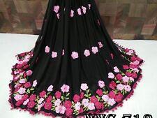 Indian Pakistani Bollywood Bridal Traditional Ethanic Saree Printed Sari