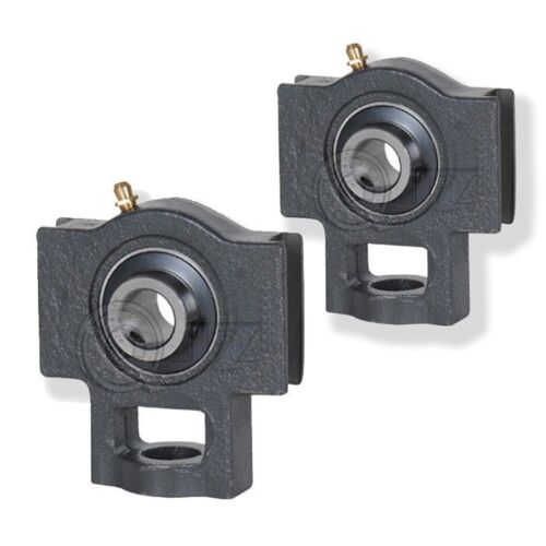 2x 7//8 in Take Up Units Cast Iron UCT205-14 Mounted Bearing UC205-14 T205