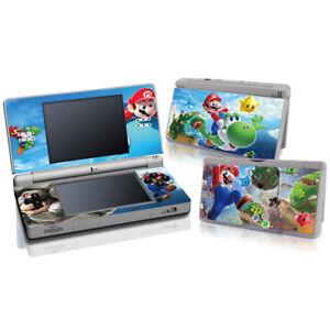 Super-Mario-Galaxy-Vinyl-Decal-Skin-Sticker-Cover-for-Nintendo-DS-Lite-DSL-NDSL
