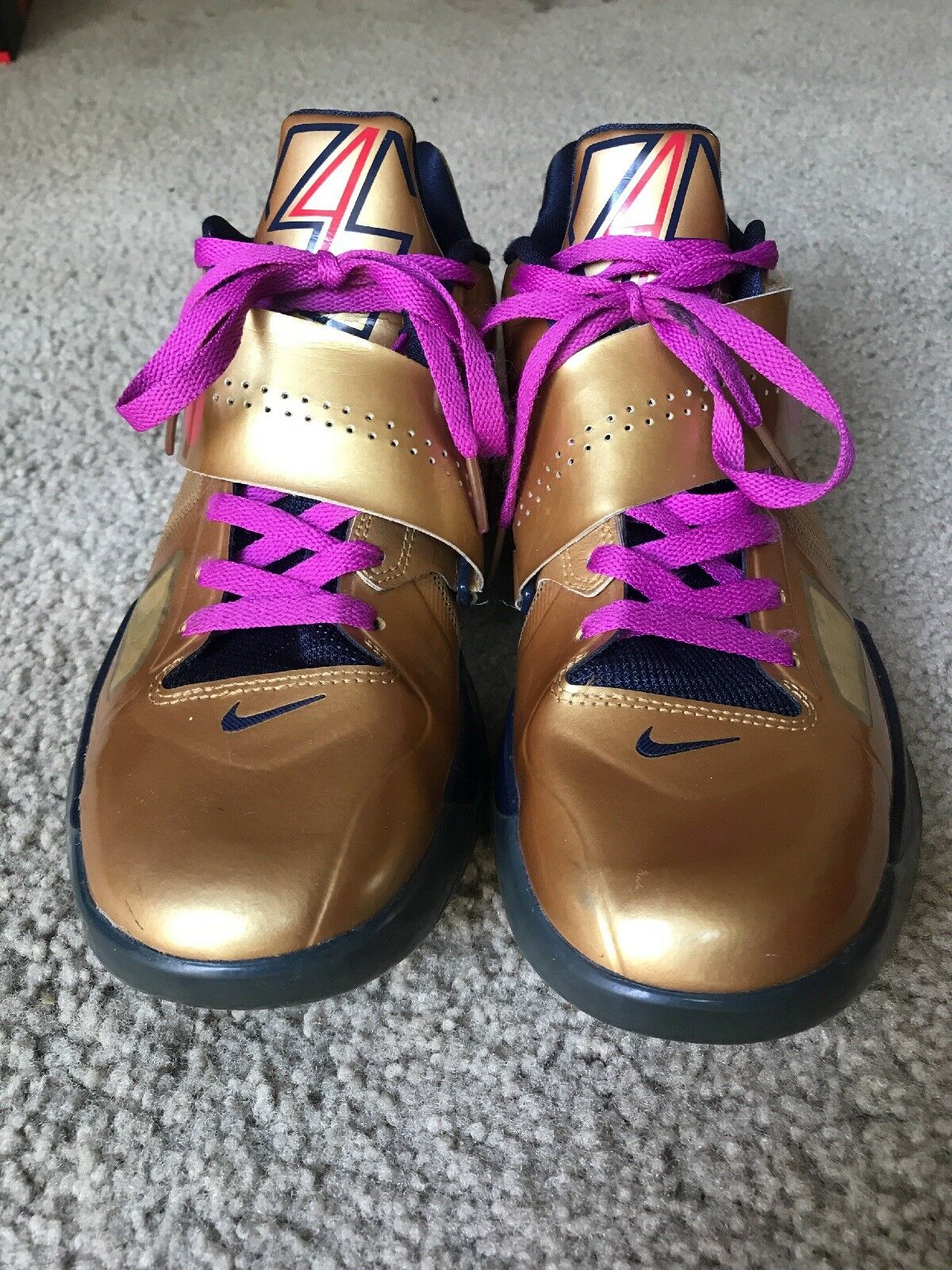 Nike GOLD Zoom KD 4 GOLD Nike MEDAL SIZE 10 b5dc4a