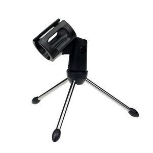 Modern-Adjustable-Metal-Desk-Top-Mic-Microphone-Clamp-Clip-Holder-Stand-Tripod