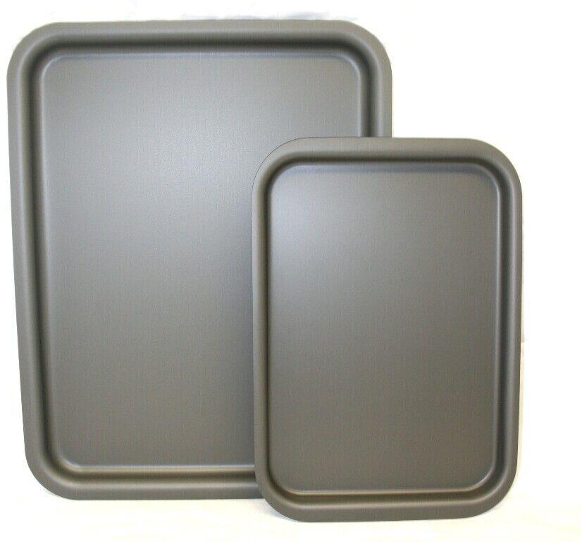Deux pièces AGA Safe British Made Hard Anodisé Patisserie grillage Set..