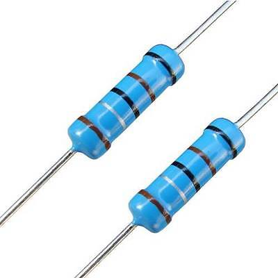 2 Watt 2W 1% Metal Oxide Film Resistors Range of Various Values / Quantities