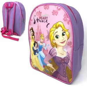 b2ef8e64475 GIRLS DISNEY PRINCESS I AM A PRINCESS BACKPACK SCHOOL TRAVEL ...