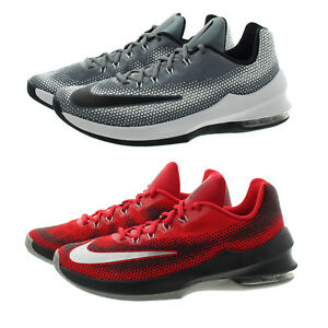 70c1e50bf11 Nike 852457 Mens Air Max Infuriate Low Top Performance Basketball ...