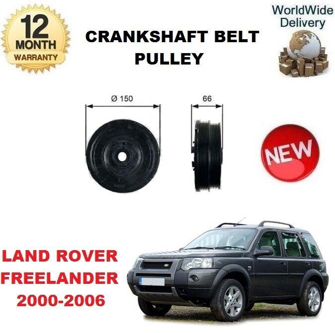 Für Land Rover Freelander 2.0 Td4 4x4 2000-2006 Kurbelwelle Riemenscheibe