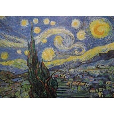 Close Up Poster Starry Night//La Notte Stellata 91,5cm x 61cm Vincent Van Gogh