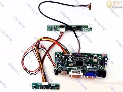 HDMI+DVI+VGA+Audio Controller Board Monitor Kit for LP154WP4-TLA1 1440X900
