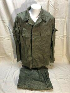 Vintage-East-German-Military-Field-Combat-Camouflage-Uniform-Medium-UNISSUED