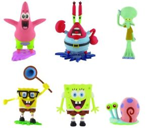 Details about Comansi Spongebob Squarepants Squidward Tentacle Patrick Star  Krabs Game Figure