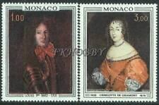 Monaco 1970 Mi 994-95 ** Princely Palace Painting Gemälde Peinture Art Malarstwo