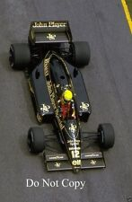 Ayrton Senna Lotus 98T Brazilian Grand Prix 1986 Photograph