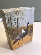 "Avon After Shave in Original Box - Sealed - Complete / ""Wild Turkey"" Decanter"