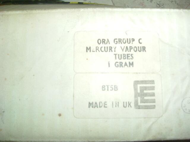 BT5B ENGLISH ELECTRIC VALVE CO LTD THYRATRON ORA GROUP C VALVE AS SHOWN