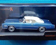 NEW Boxed 1976 Blue Cadillac Eldorado Convertible Premium X 1/43 PR0004 PremiumX